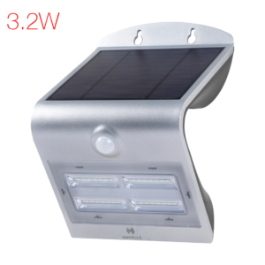Solazen IP54 wall light (Grey)