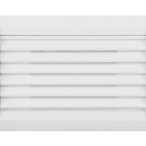 ROMA WHITE, FOOT LAMP (LOUVRES)WITH 4M BOX & TRESA COVER