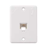 2 Line Telephone Jack (RJ11) (flush Mounting, Socket Size)