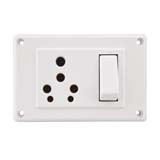 25A. and 10A. Switch and Socket Combined (3 in 1)(Heavy Duty)