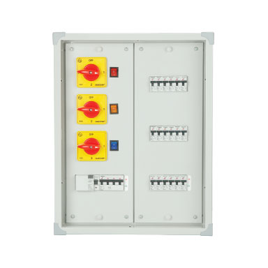 PHASE SELECTOR(VERTICAL) DOUBLE DOOR - DB