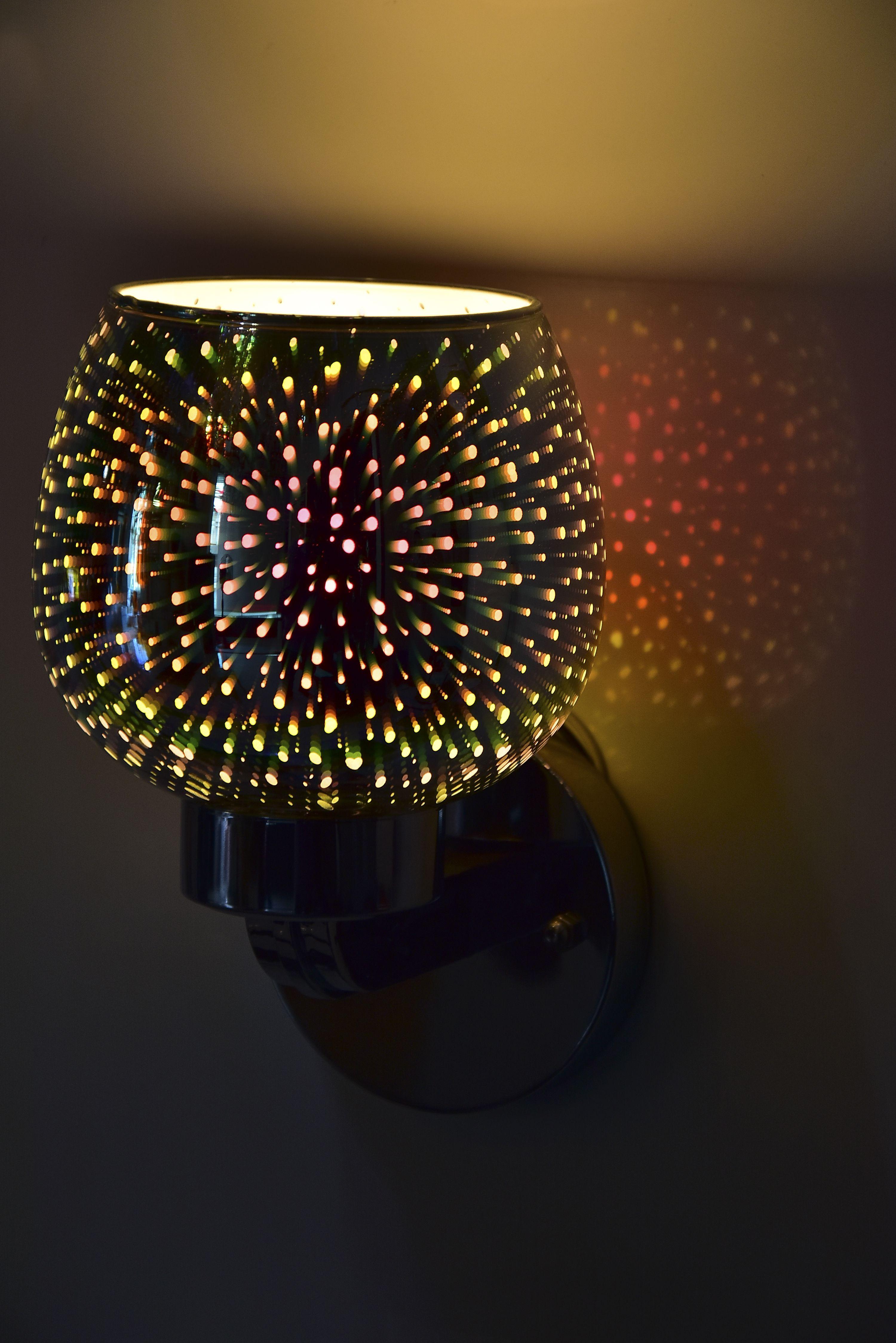 Wine  glass  3d  light