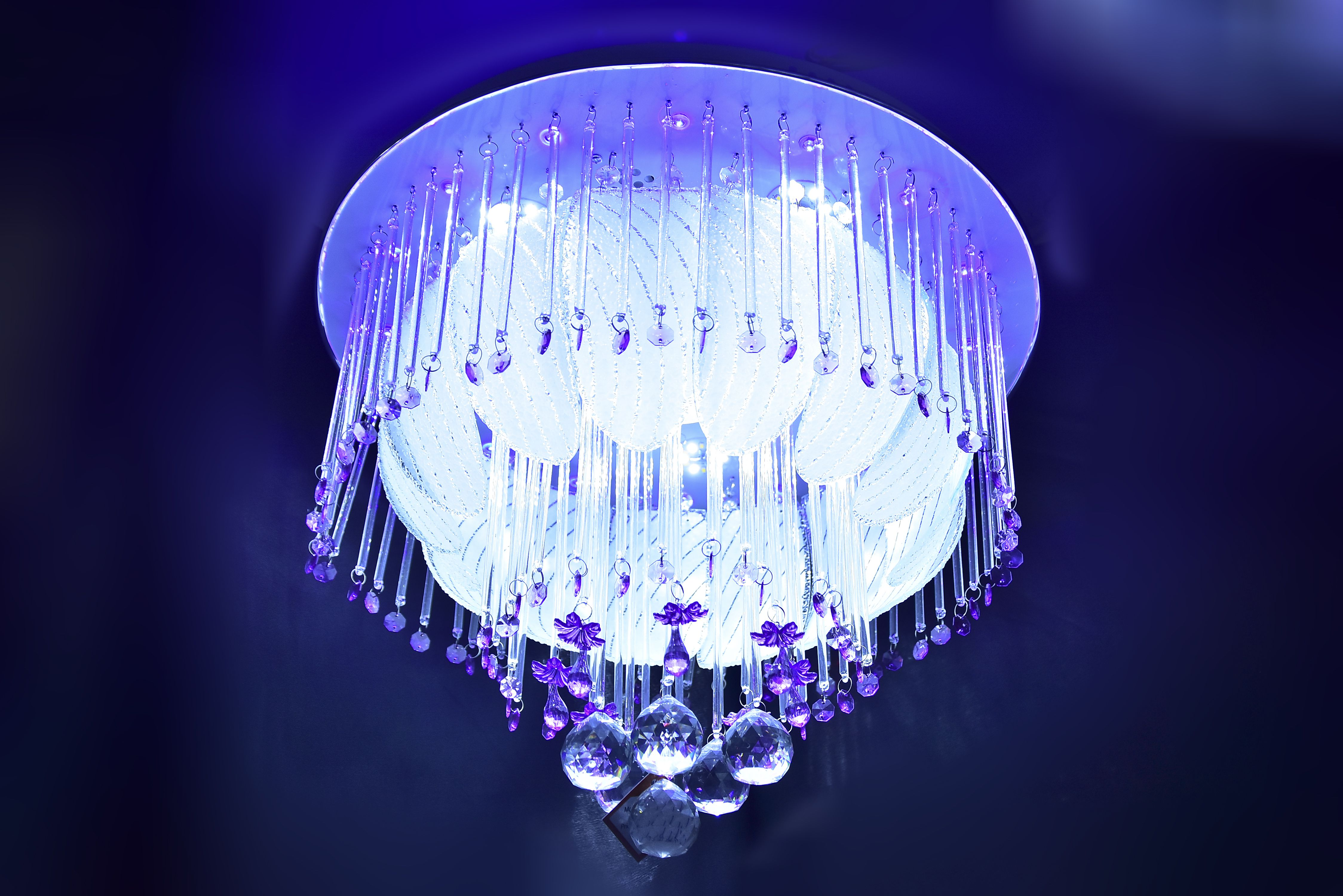 Crystal-Pink-White-Chandelier