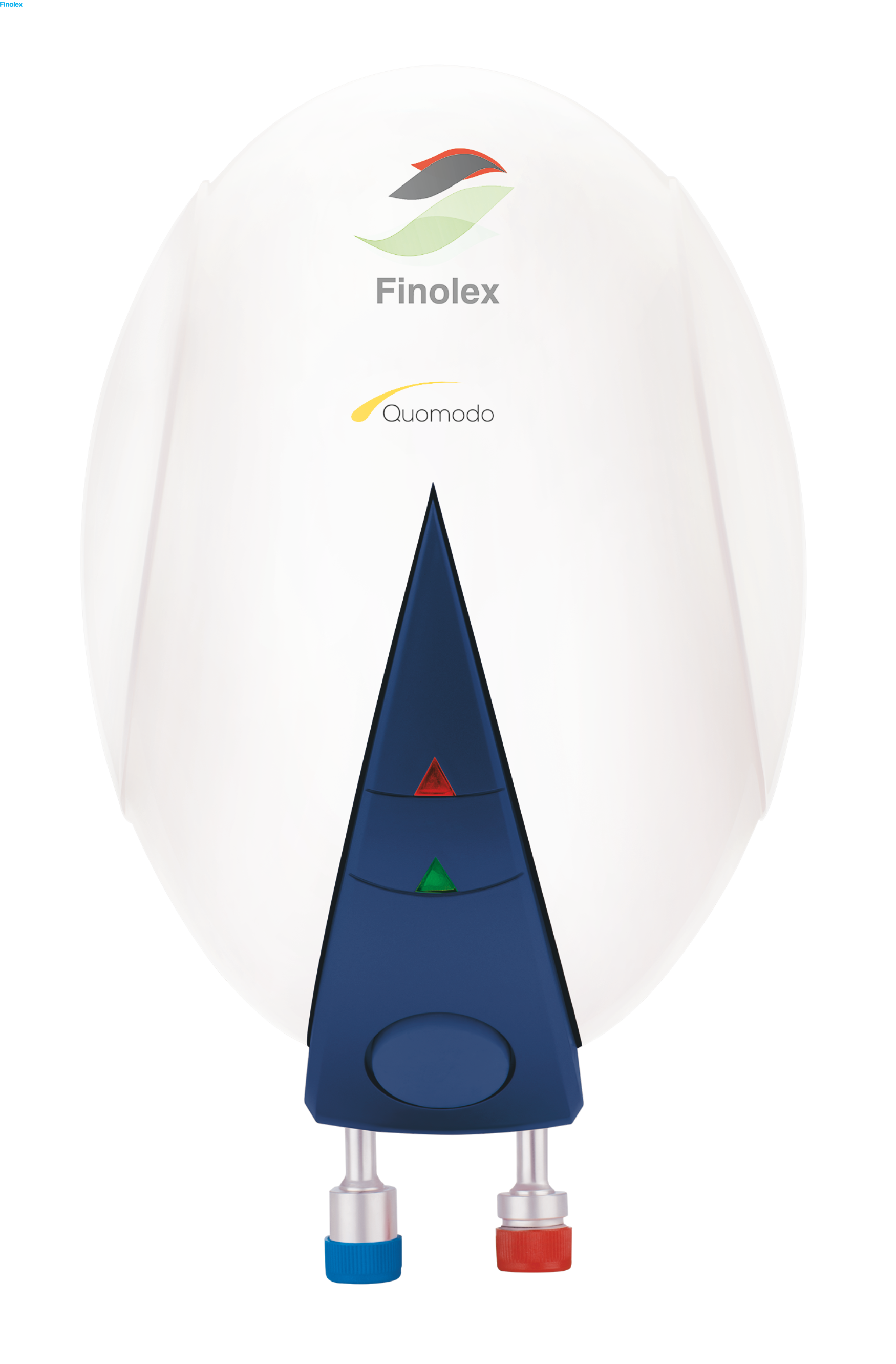 PACK OF 4 - FINOLEX INSTANT WATER HEATER QUOMODO WHITE 1 LTR 4.5KW