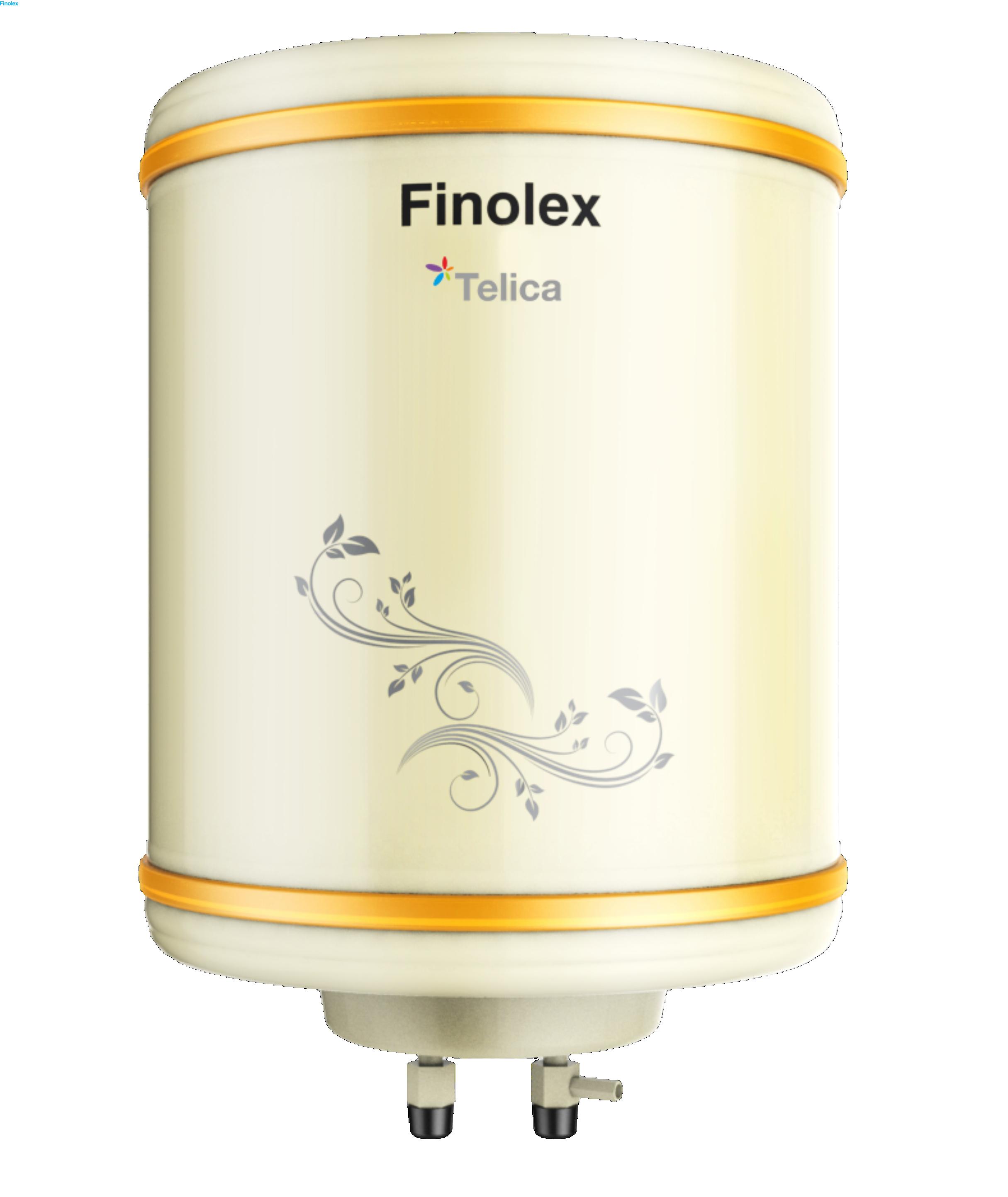 FINOLEX STORAGE WATER HEATER TELICA IVORY 15 LTR 2KW