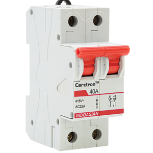 63A DP Caretron Isolator