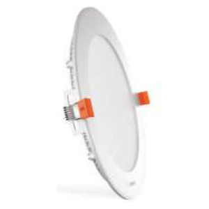 PLANO 3000K 6W Ultra Slim Panel Light Round